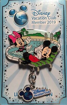 Disney Pin DVC Mickey And Minnie LE 3500