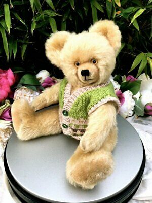 Antique / Vintage 17 inch German Diem Teddy Bear - 1940s