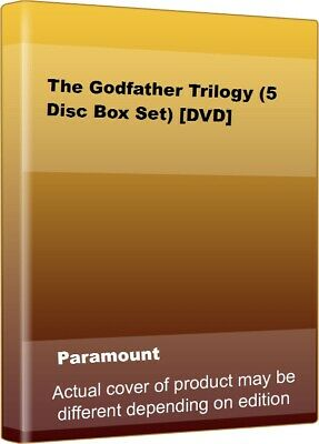 The Godfather Trilogy (5 Disc Box Set) [DVD] By Marlon Brando,Al Pacino.