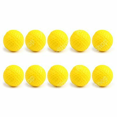 9db92efa8a8eea 10x Round Refill Pack Replace Bullet Balls for Rival Apollo Zeus Toy Gun