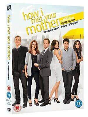 How I Met Your Mother - Season 9 [DVD] [2014] By Josh Radnor,Jason Segel.