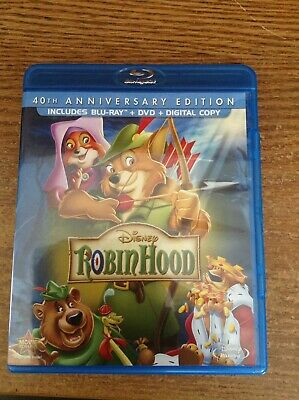 Robin Hood: 40th Anniversary Edition [Blu-ray + DVD No Digital Code