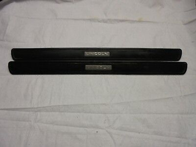 2003 - 2011 Lincoln Town Car Front Door Step Kick Sill Plate Set Lh & Rh Oem