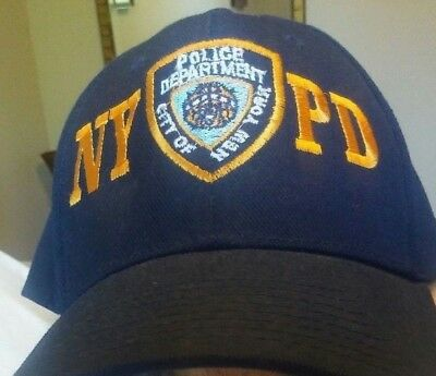 9d6e67617 NYPD NAVY WINTER Hat Beanie Skull Cap Officially Licensed by The New ...