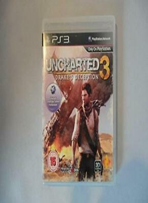BUNDLE of RARE / COLLECTABLE Playstation 3 Games PS3 Set 4 Uncharted 3 Drakes.