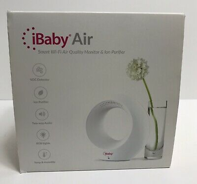 New Open Box! IBABY Air - Audio Baby Monitor & Air Purifier, FREE SHIPPING
