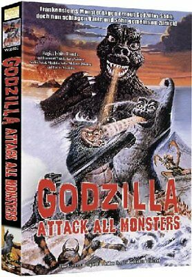 Godzilla - Attack All Monsters [Limited Edition] DVD