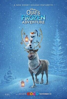 Olaf's Frozen Adventure Dvd