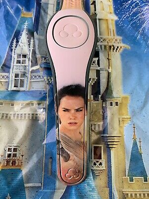 NEW DISNEY PARKS Star Wars REY MILLENNIAL PINK Magicband Magic Band 2 Unlinked