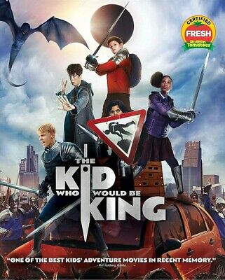 The Kid Who Would Be King 2019 - Blu Ray Only