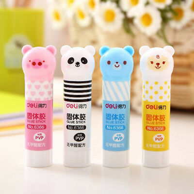 Cartoon Animals High Viscosity Stationery Solid Glue Stick Panda Office