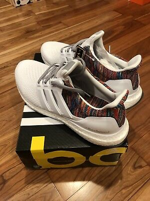 288d094fb3e29 Adidas MiAdidas Mi Adidas Ultra Boost 2.0 White Multi-color Rainbow Size 11  DS