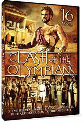 Artist Not Provided-Clash Of The Olympians 16 Movie Set Dvd New