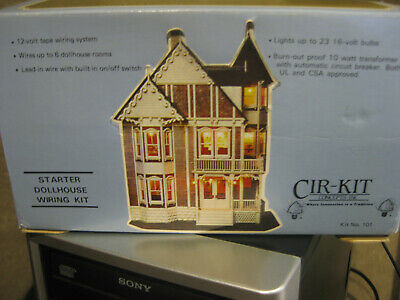 Prime Cir Kit Concepts Inc Dollhouse Starter Wiring Kit In Box Used Wiring Digital Resources Millslowmaporg