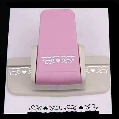 Fancy Border Punch S Flower Design Embossing Punch Scrapbooking Paper Cutter A3X