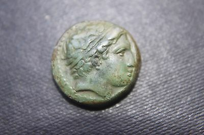 QUALITY ANCIENT GREEK PHILIP 11 COIN 4th CENT BC FATHER of ALEXANDER the GREAT