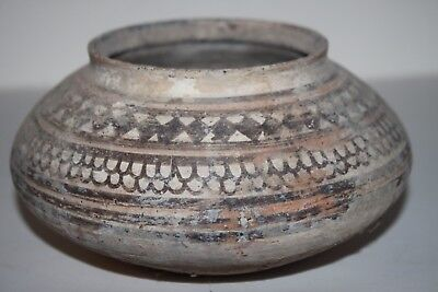 Ancient Indus Valley Pottery Bowl 2800 1800 Bc Harappan