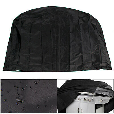 190cm BBQ Cover Heavy Duty Waterproof Medium Barbecue Grill Outdoor Protector UK