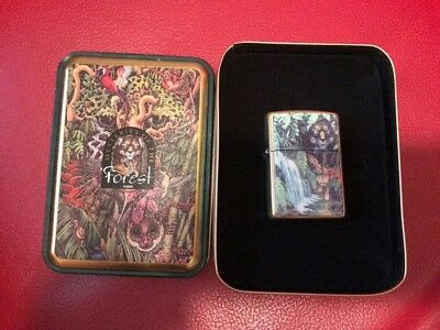 Zippo Accendino Lighter  Mysteries Of The Forest Limited Edition  Rare