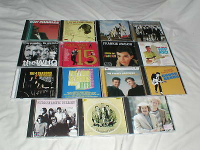 LOT of Oldies CD's Rock Pop Soul Fifties Sixties Chuck Berry Buddy Holly+