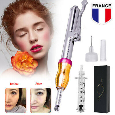 Kit Hyaluron Stylo Acide Hyaluronique Non Invasif Seringue Injection Atomiseur