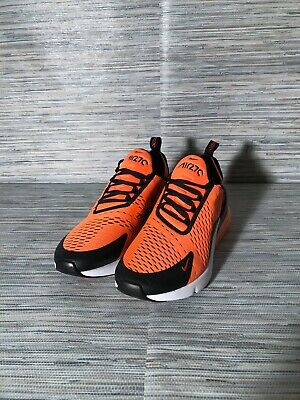 0528323711 NIKE AIR MAX 270 Total Orange SF Giants Black White San Francisco ...