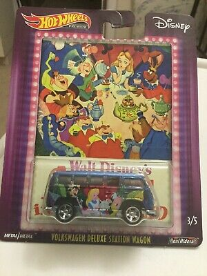Hot Wheels Walt Disney's Alice in Wonderland VW Volkswagen Deluxe Station Wagon