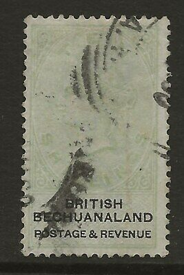 Bechuanaland  Sg 19  1888  10/- Green & Black   Faded   Spacefiller