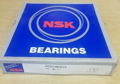 New NSK 7926CTYNSULP4 Angular Contact Ball Bearing
