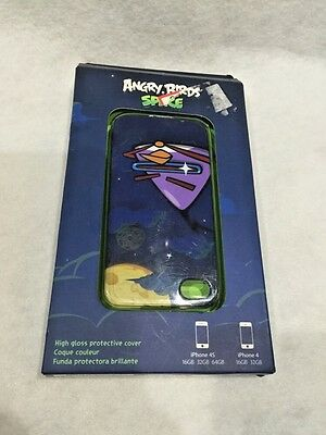 GEAR4 Apple iPhone 4 4S Angry Birds Space Hard Shell Case Cover High Gloss