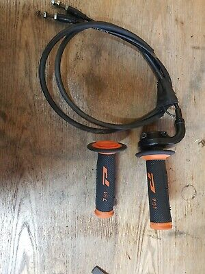 ktm throttle tube cables and grips