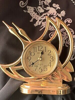 JAPAN EMPEROR Medal of the Prize from Emperor Showa Seiko Crane Clock.  USED
