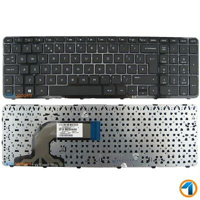 New HP Pavilion 15-N276SA Replacement Laptop Keyboard Black UK With Frame
