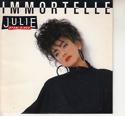 45Trs Vinyl 7''/ French Sp Julie Pietri / Immortelle / Neuf