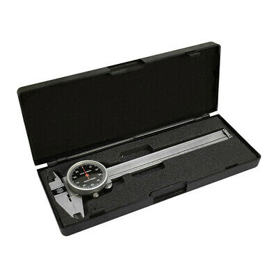 Black Dial Face 0.001 Inch Graduation 0-4 Inch Stainless Steel 4 Way Caliper