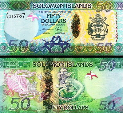 SALOMONE ISOLE - Solomon Islands 50 dollars 2017 Hybrid FDS UNC
