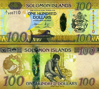 SALOMONE ISOLE - Solomon Islands 100 dollars 2017 Hybrid FDS UNC