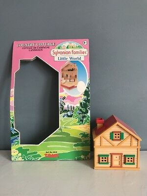 RARE Sylvanian Families Little World Country Cottage Pocket Calico Critter Polly