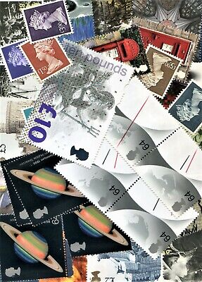 Higher Value Mint Stamps For Cheap Postage Face Value £25.69. SEE DESCRIPTION.