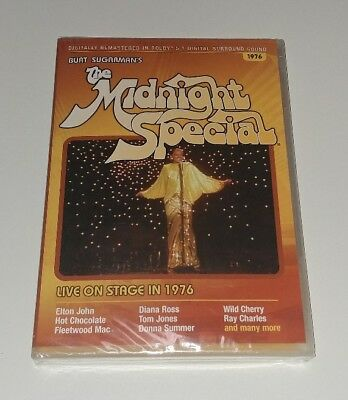 BURT SUGARMAN'S THE MIDNIGHT SPECIAL LIVE ON STAGE IN 1976 DVD Elton John NEW