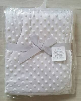 Baby Boys//Girls Supersoft Waffle Textured Blanket BABY1375