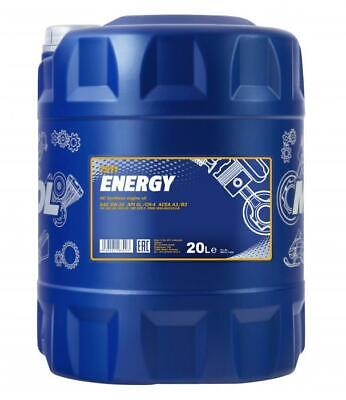 Mannol ENERGY 20 Litre 5w30 ZETEC Fully Synthetic Engine Oil SL/CF ACEA A3/B3