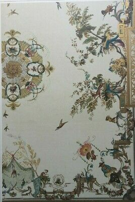 3 large Chinoiserrie Antique French Decorative Prints c. 1890, Gelis-Didot