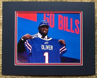 Ed Oliver Buffalo Bills #9 Overall Pick 2019 NFL Draft 8x10 color photo