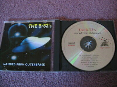 The B-52's Landed From Outerspace CD Live Import RARE Love Shack Rock Lobster