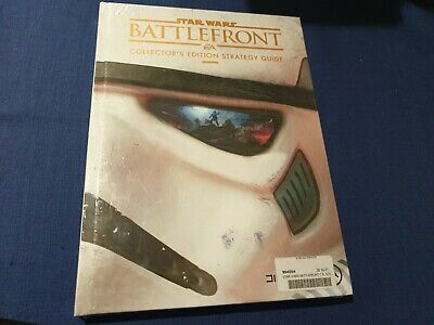 Star Wars Battlefront Strategy Guide Collectors Edition - Brand New Sealed