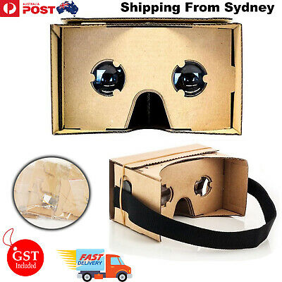 Cardboard 3D Glasses VR Box Virtual Reality Google Video Film For Android Phone