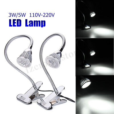 3W/5W 110-220V CNC Machine LED Lamp Working Light Flexible Clip on Aluminu Alloy