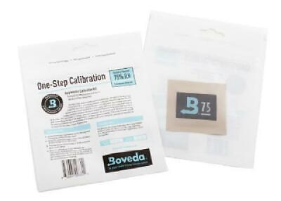 Boveda One-Step Hygrometer Calibration Kit - 75% Rh - Standard Small