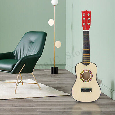 AU 21'' Kids Acoustic Study Guitar Gift 6 String Practice Music Instruments